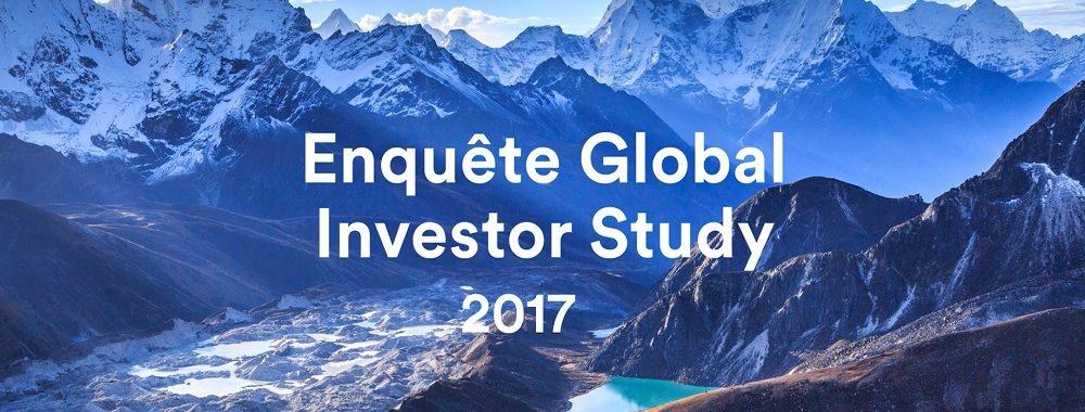 Enquête Global Investor Study 2017