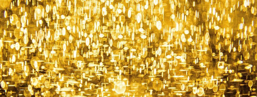 L'or étincelle