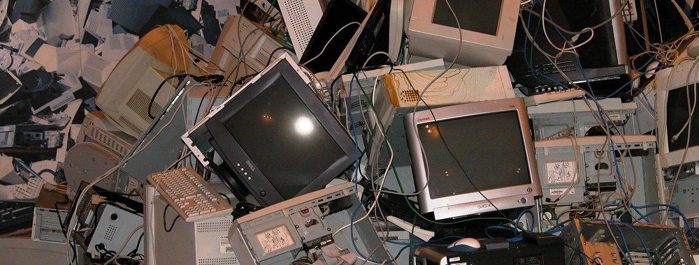 Le poids de nos déchets électroniques