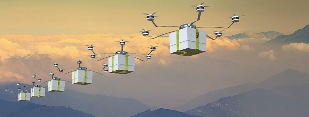 E-commerce : la livraison par drones prend son envol!