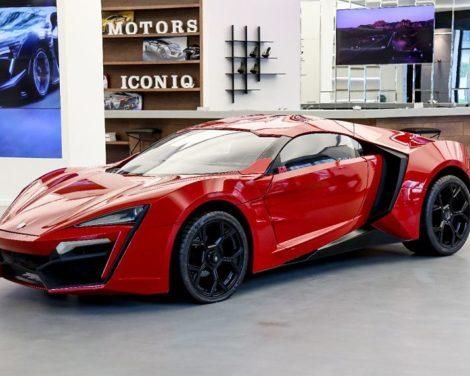Mise aux enchères de la voiture de cascade W Motors Lykan HyperSport de Fast & Furious 7