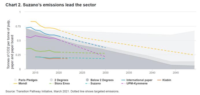 émissions carbone Suzano