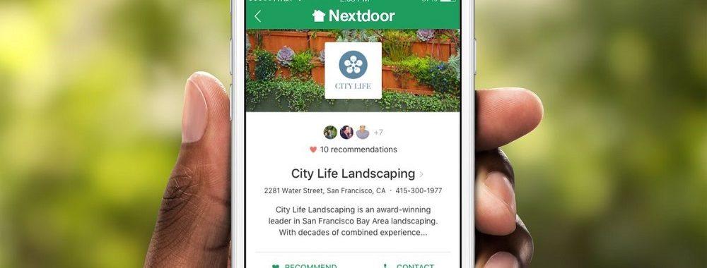 Nextdoor va entrer en bourse via une fusion SPAC
