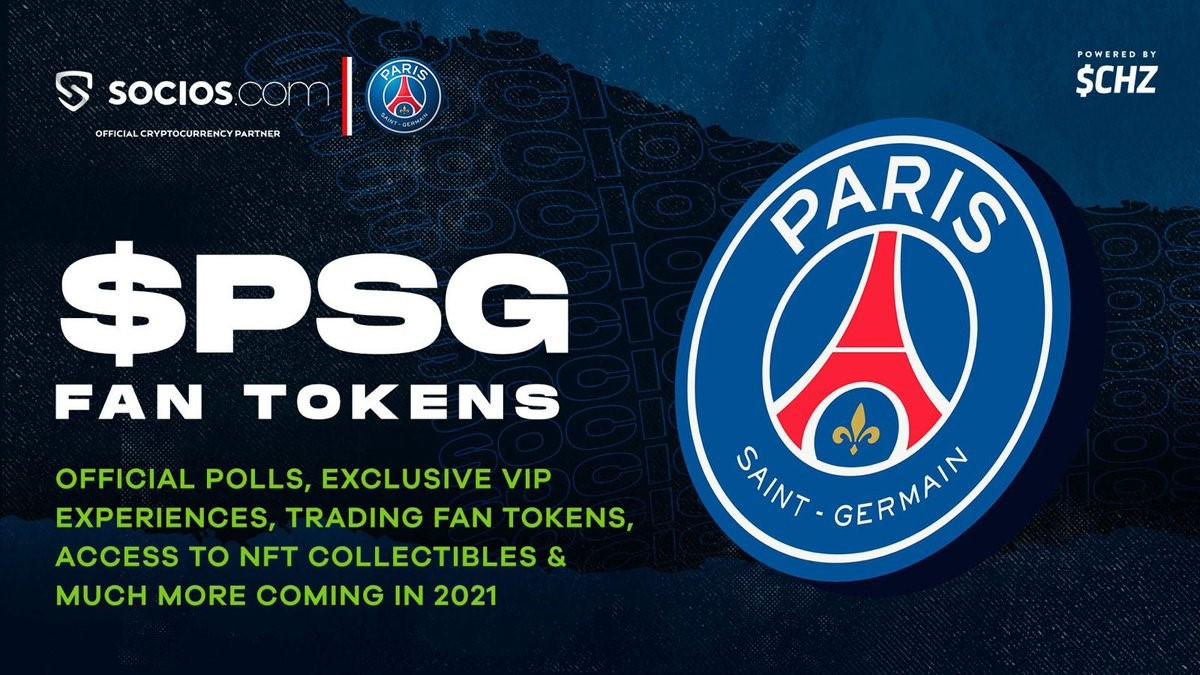 2021.08.17.FlowBank PSG Fan Token