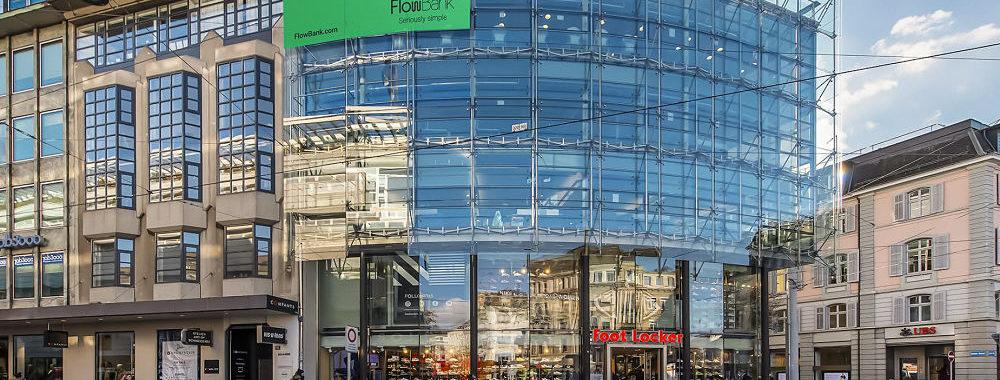 Paradeplatz a de la concurrence – La vague verte de FlowBank déferle sur Zurich